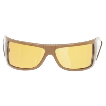 Ferre Leather frame sunglasses