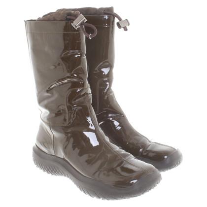 Prada Boots van lakleder