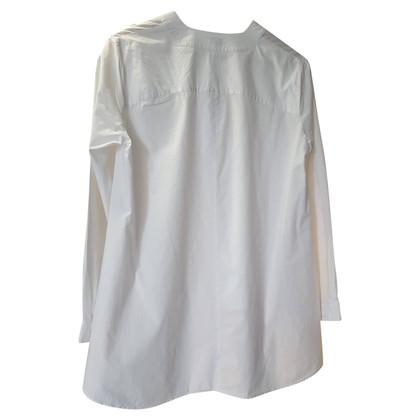 Hoss Intropia Coton camicetta bianca