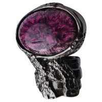 """Yves Saint Laurent """"Arty"""" with gemstone ring"""