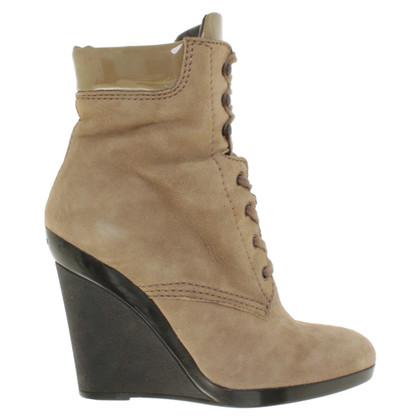 Hogan Ankle boots in hellkhaki
