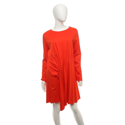 Cos Dress in orange-red