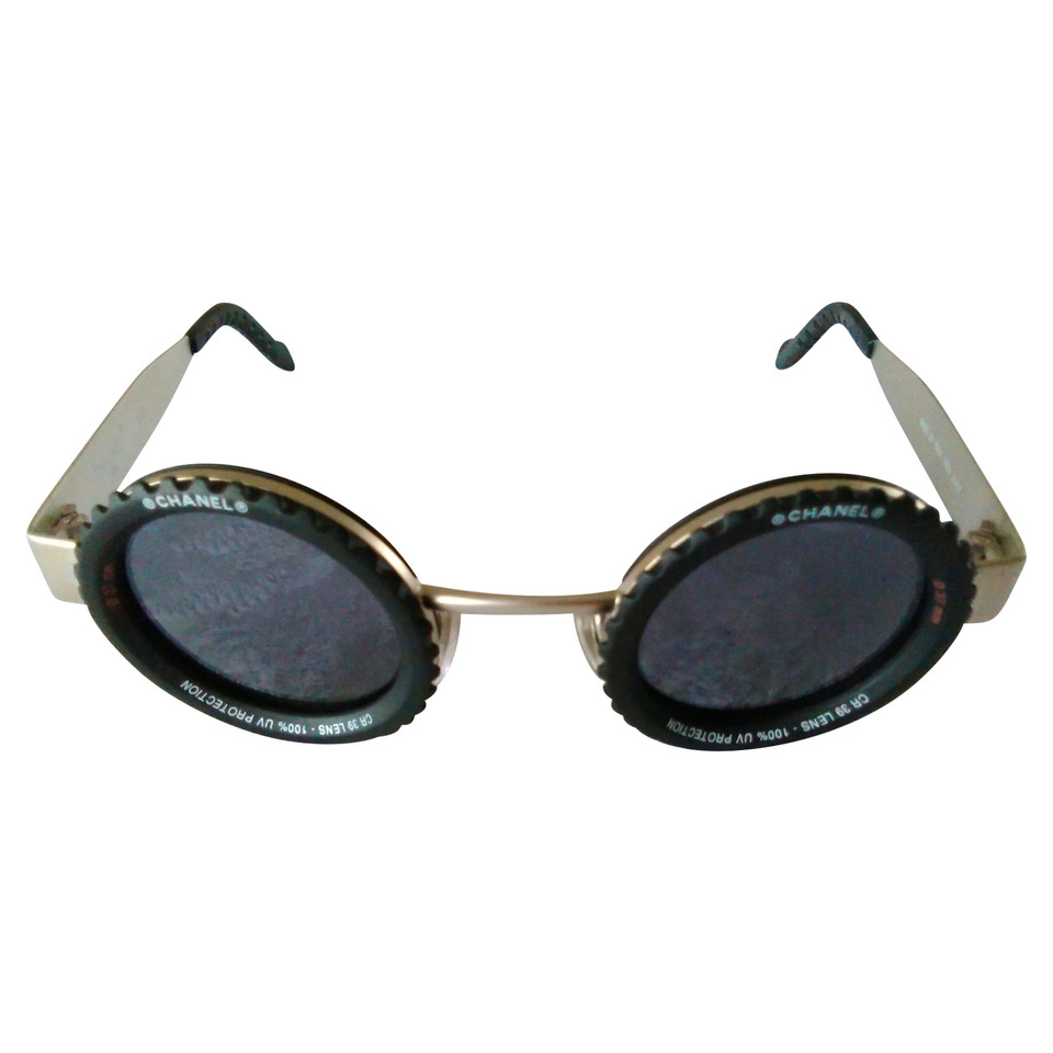 Chanel  VINTAGE CHANEL PARIS LOGO SUNGLASSES