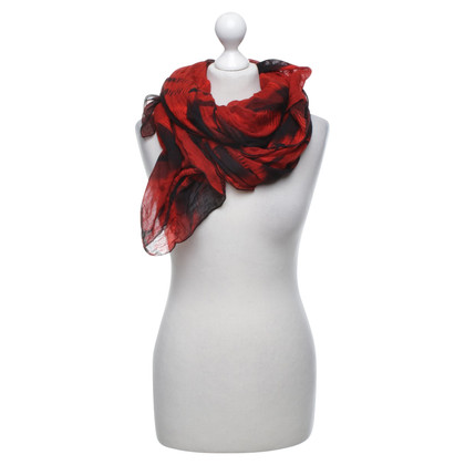 Karen Millen Scarf in red / black