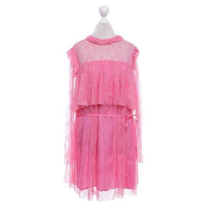 Altre marche Jucca - abito di pizzo in rosa