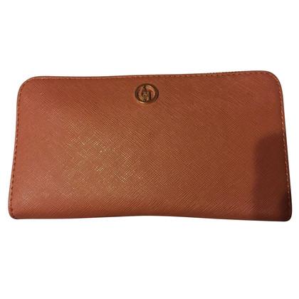 Armani Jeans Wallet in Cognac