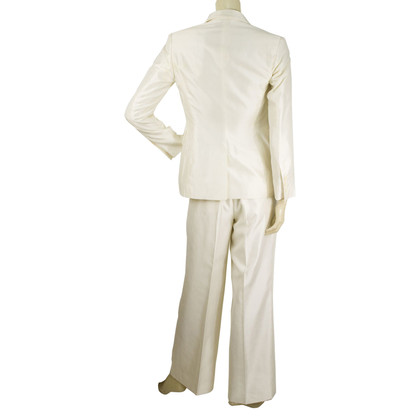 Gucci White Jacket Blazer Pants Suit