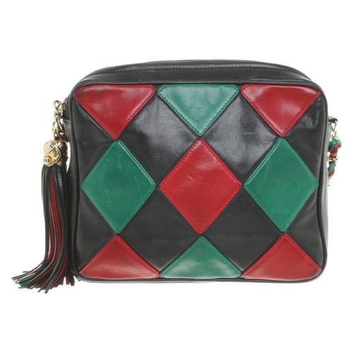 7d0b4e3b7bcf Chanel Vintage crossbody bag in multicolor - Second Hand Chanel ...