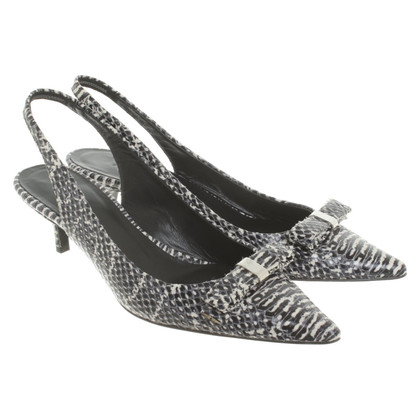 Strenesse Slingback-pumps made of reptile leather