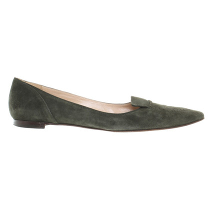 Manolo Blahnik Slipper aus Wildleder