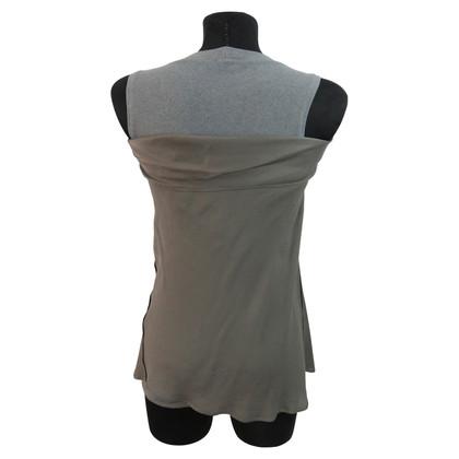 Brunello Cucinelli Drapiertes Shirt mit Seide