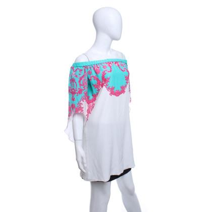Andere Marke Caffé - Kleid mit Print