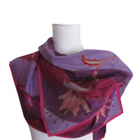 Oscar de la Renta silk scarf