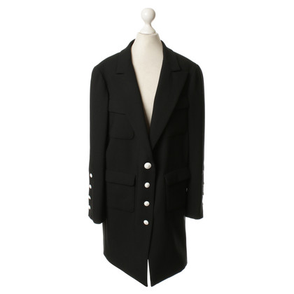 Chanel Long Blazer in black