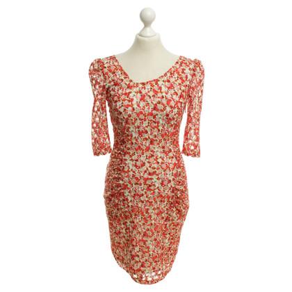 Reiss Kleid mit floralem Muster