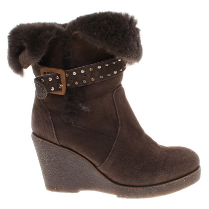 Emu Australia Ankle boots with lambskin