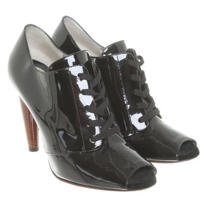 Dolce & Gabbana Lakleren laarzen in zwart