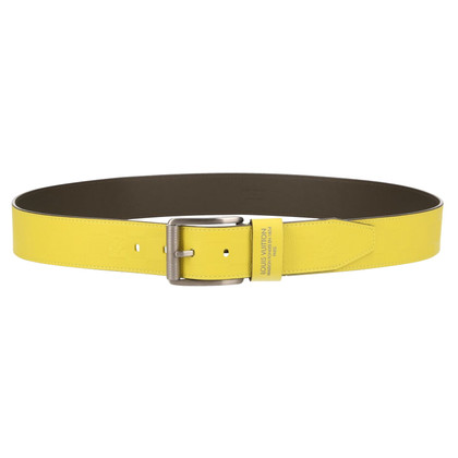 Louis Vuitton Belt Damier Infini leather