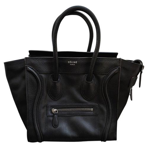 d25f85a8c167 Céline Mini Luggage Bag - Second Hand Céline Mini Luggage Bag buy ...