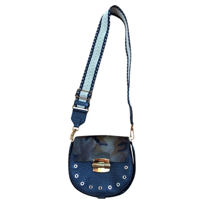 Furla Club Cross Body Bag Camouflage