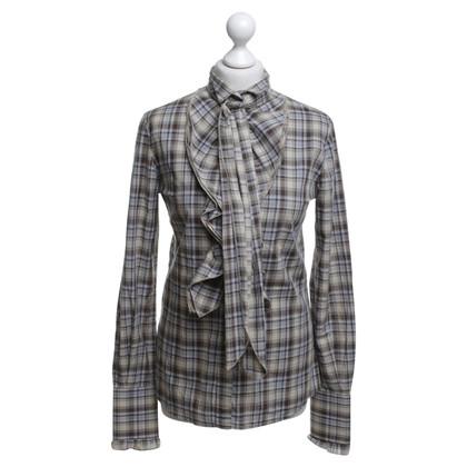 Dolce & Gabbana Checkered blouse