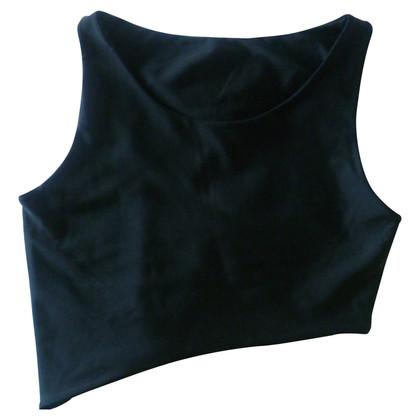 La Perla Asymmetrical Crop Top
