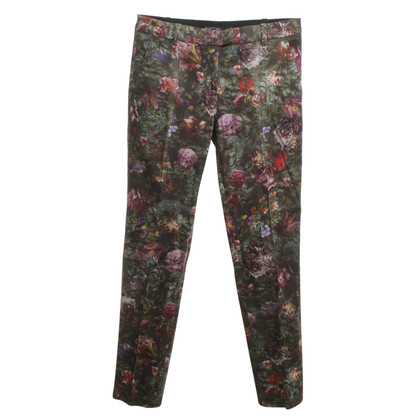 Marc Cain Pants with floral pattern
