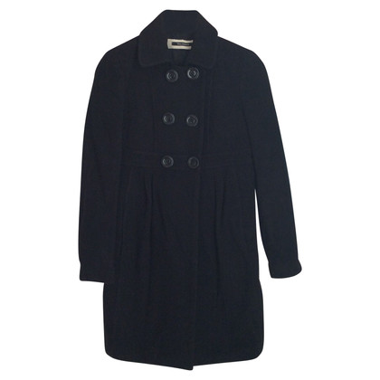 Tara Jarmon wool black coat Tara Jarmon