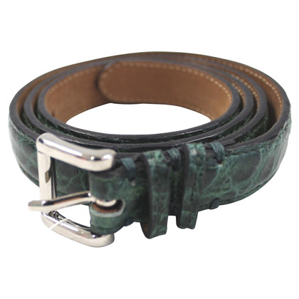 Fausto Colato Belt made of alligator leather