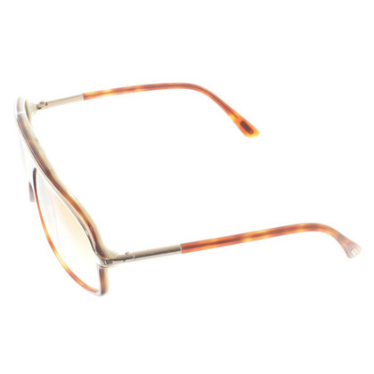 Tom Ford Sonnenbrille in Braun