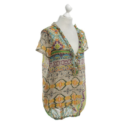 Bogner top with pattern