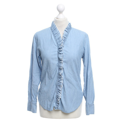 Isabel Marant Etoile Light Blue Jean Chemisier