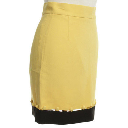 Moschino Cheap and Chic skirt yellow