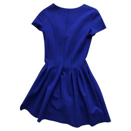 Maje blauwe jurk