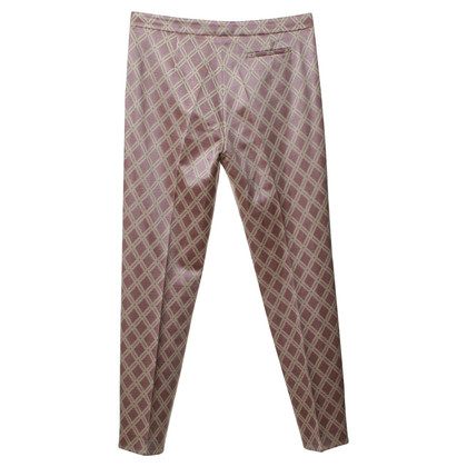 Odeeh Pantalone fantasia in rosa cipria