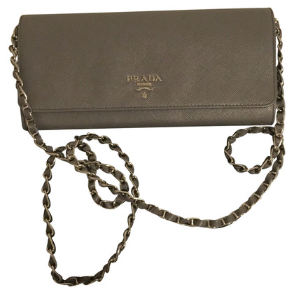 Prada clutch Saffiano leather