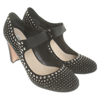 Prada pumps in zwart
