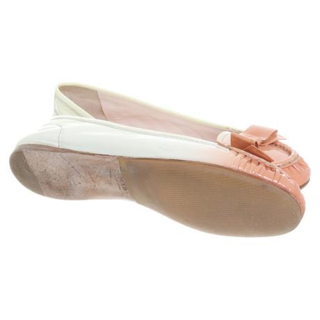 in Prada Ballerinas Creme Ballerinas Creme Prada Creme Creme in Ballerinas Prada xqwgPSA