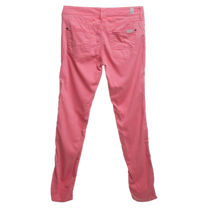 7 For All Mankind Jeans a Coral Red