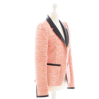 Balenciaga Pinkfarbener Boucle-Blazer