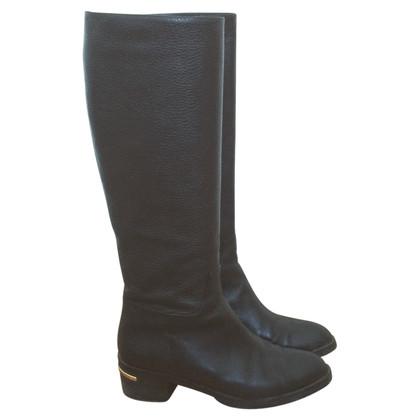 Baldinini Baldinini black leather boots