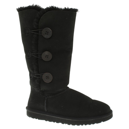 UGG Australia Lambskin boots in black