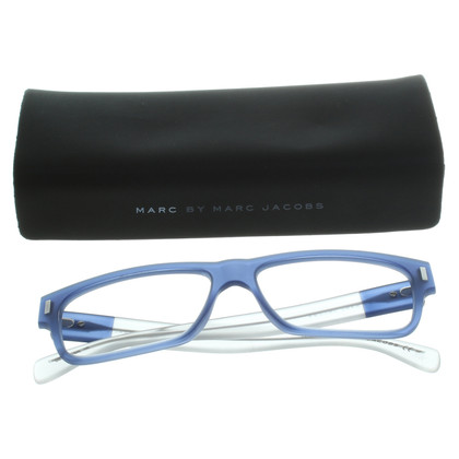 Marc by Marc Jacobs Bril in blauwe en transparant-wit