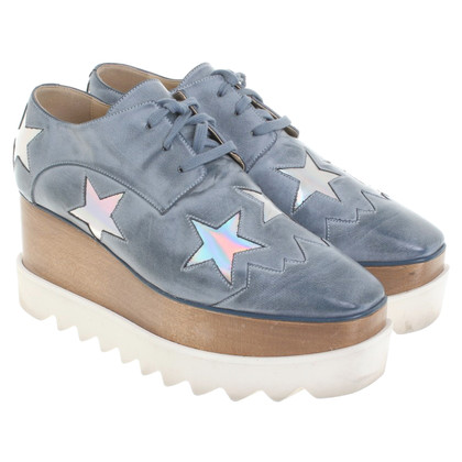 Stella McCartney Lace-up shoes with star applications