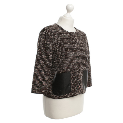 René Lezard Tweed jas met zakken