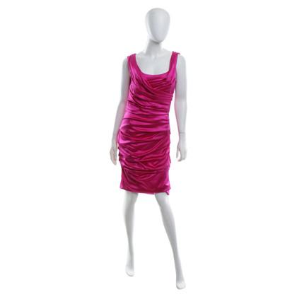 Dolce & Gabbana Silk dress in pink
