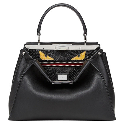 "Fendi ""Peekaboo"" handbag made of python leather"