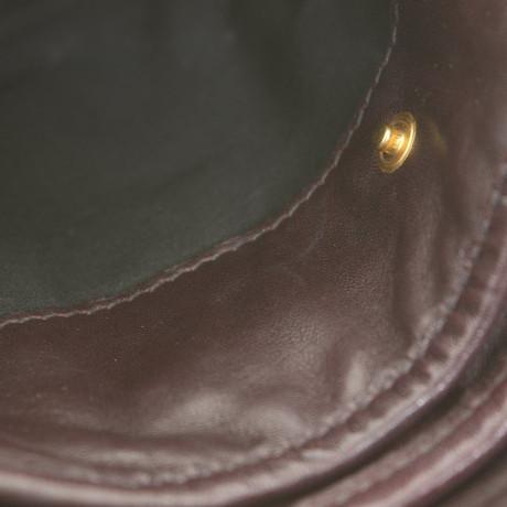 Rabatt Zahlung Mit Visa Miu Miu Umhängetasche in Dunkelbraun Braun Freies Verschiffen Verkaufsschlager Bester Verkauf Verkauf Online tZtmpv
