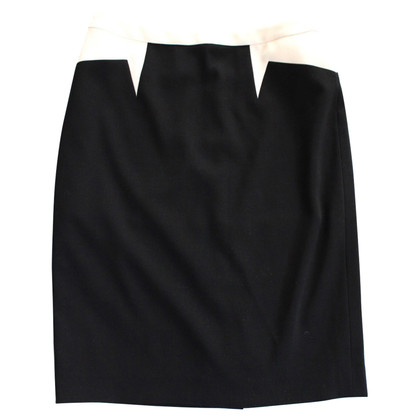 Escada skirt in black / white
