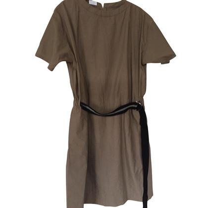 Brunello Cucinelli Sommerkleid mit Glitzergürtel